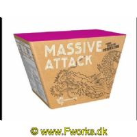 J25 - Batteri - MASSIVE ATTACK - Fyr op under luftalarmen - Nem: 578g