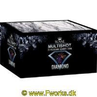 RY28 - Royal Diamond - Multishot batteri - 25 skud - NEM 145g