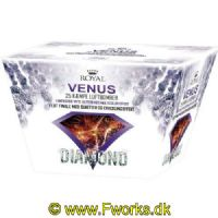 RY94 - Royal Diamond - Venus vifte batteri - 25 skud - NEM 342.5g