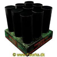 S03 - Batteri - Pro line 30 - 9 skuds batteri - Stor rør - NEM 431g