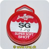 SG12 - Super Soft Shot synk - 1.2 gram - Ca. 12 stk
