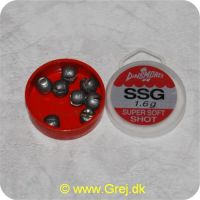 SSG16 - Super Soft Shot synk - 1,6 gram