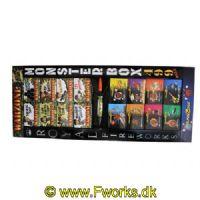 YZ24 - Monster box - Sortiment til junior hele 499 dele - NEM 608g