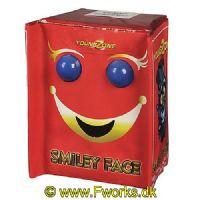 YZ46 - Happy face / Smiley Face - Flot fontæne med blinkende øjne og mund